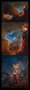 """Astro Anarchy: The """"Heart Nebula"""", IC 1805, reprocessed"""