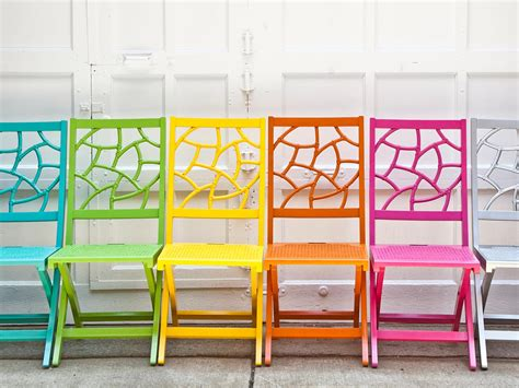 colorful folding chairs outdoor entertaining accessories entertaining ideas