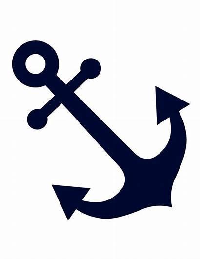 Navy Nautical Cut Outs Preppy Cutouts