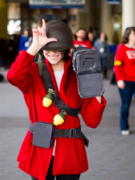 Self Red Soldier Tf2 First Cosplay Cosplay