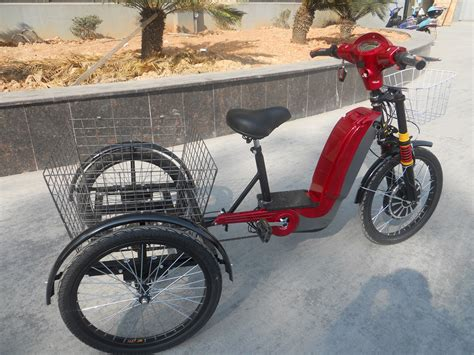 Electric Cargo Trike Bike With 3 Wheels Purchasing
