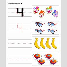 Preschool Number Worksheets , Premath Worksheets