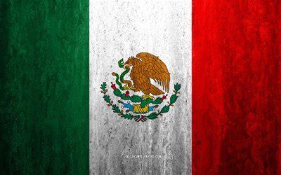 herunterladen hintergrundbild flagge von mexiko  stein