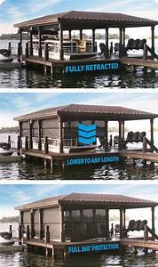 Shorescreen Boat Dock Cover  U2013 Q