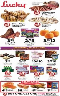 lucky supermarkets weekly ad specials