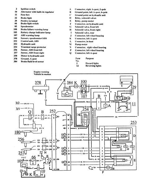 Volvo Wiring Diagrams Brake Controls