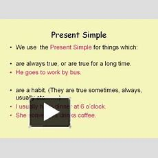 Ppt  Present Simple Powerpoint Presentation  Free To Download  Id 78a9cfzjeym