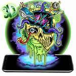 Graffiti Themes Skull Wallpapers Tricks Zombie Onlinehackz
