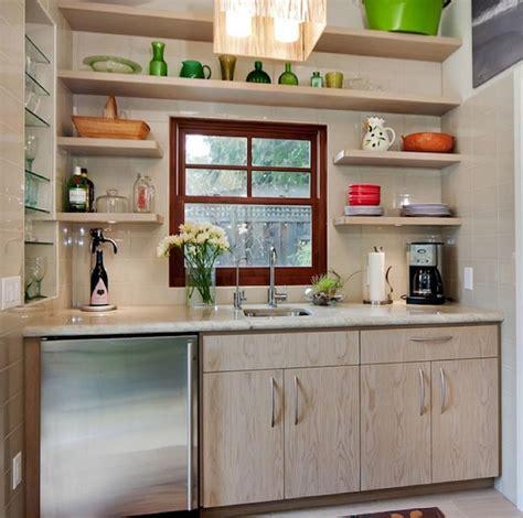 beautiful  functional storage  kitchen open