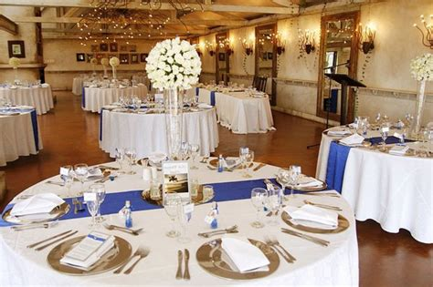 royal blue and silver wedding decor wedding theme decor