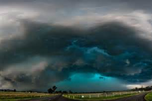 Green Storm Clouds