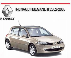 Renault Megane Ii 2002-2008 Repair Service Manual