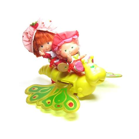 strawberry shortcake butterfly flitter bit toy  dolls