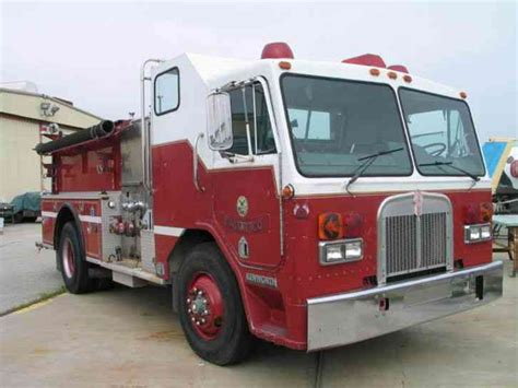 kenworth engines kenworth fire engine 1984 emergency fire trucks
