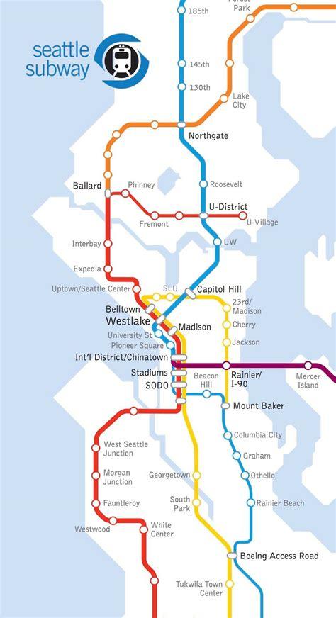 seattle light rail light rail in st3 a region defining decision 187 the urbanist