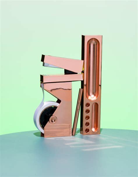 tom dixon desk accessories tom dixon 39 s bold new stationery collections design milk