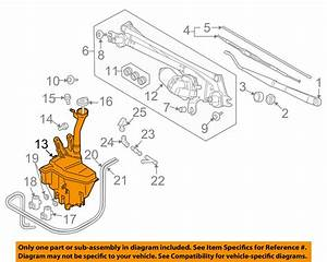 Suzuki Oem Grand Vitara Wiper Washer