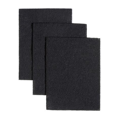 broan bath fans broan 43000 series non ducted charcoal filters for range