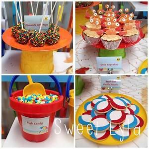 Beach Theme Birthday Party Ideas   Photo 3 of 10   Catch ...