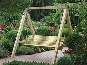 hollywoodschaukel aus kvh garden patio pinterest With katzennetz balkon mit garden swing chair