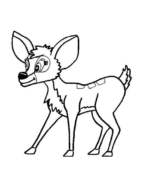 Hert Kleurplaat by Herten Kleurplaten Animaatjes Nl