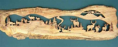 scroll  patterns wildlife plans diy   fold