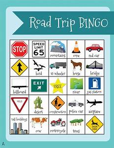 17 best images about travel bingo printables on pinterest With kids bingo template