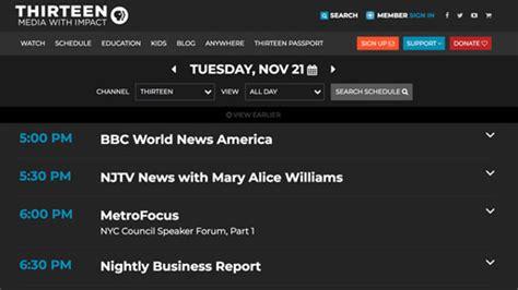 schedule thirteen  york public media