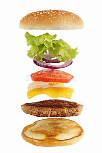 Burger Ingredients Stock Photo  Image Of Ground  Classic
