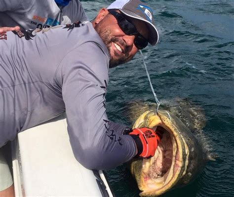 grouper fishing monster nco skipper charter turned goliath