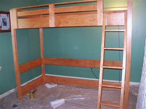 twin loft bed plans bed plans diy blueprints