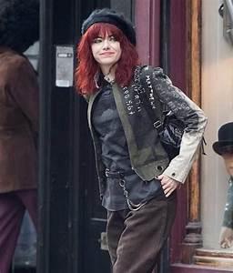 Stone Cruella Deville Cotton Jacket Movie Leather