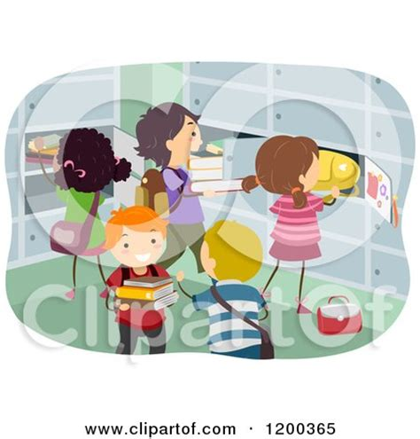 classroom cubby clipart royalty free diverse illustrations by bnp design studio page 5
