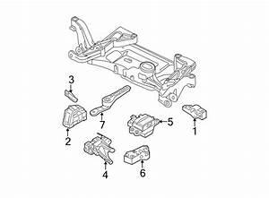 Volkswagen Passat Engine Mount Bracket  3 6 Liter