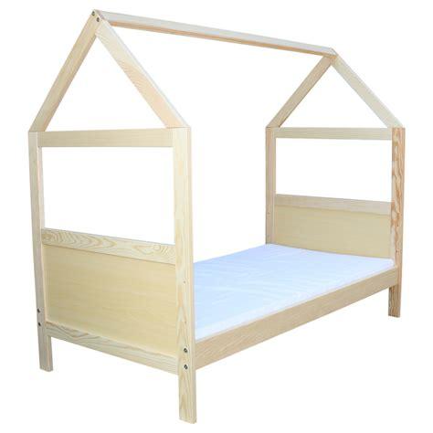 Kinderbett  Juniorbett Haus 140 X 70 Cm, Oder 160 X 70 Cm