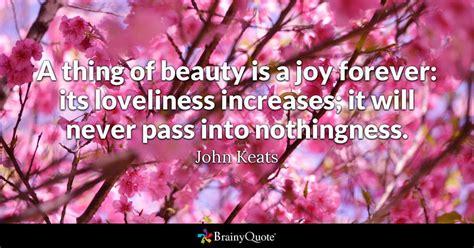 john keats    beauty   joy