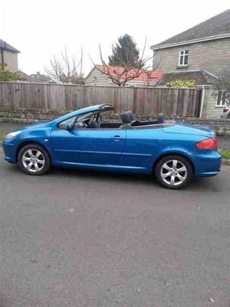peugeot sports cars for sale peugeot 307cc sports convertible 2007 very good condishion