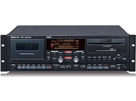 Tascam Cc222sl Cd Recordercassette Deck