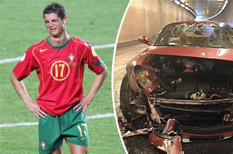 cristiano ronaldo dead  car crash