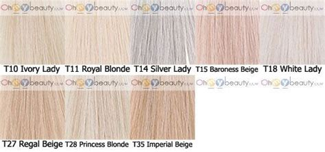 I Think The Names Have Changed But Wella Color Charm