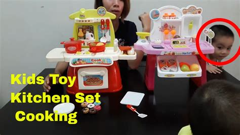 toy kitchen set cooking playset  children cooking toys