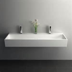 plan vasque salle de bain suspendu 120x40 cm mineral