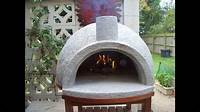 how to build an outdoor pizza oven Pizza Oven Easy Build, First Firing - YouTube