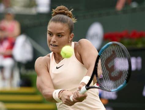 El noble gesto de la tenista griega Maria Sakkari