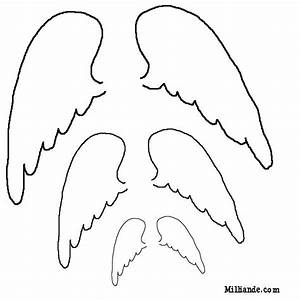 Free Patterns to Print | Paper Doll Printables Angel Wings ...