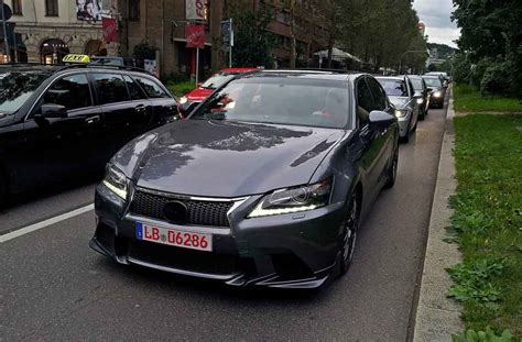 gs  prototype spotted  germany clublexus