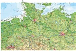 Deutschland Physische Karte : diercke weltatlas kartenansicht deutschland n rdlicher teil physische karte 978 3 14 ~ Watch28wear.com Haus und Dekorationen