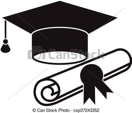 3 bureau des diplomes chapeau diplôme remise de diplomes icône toile