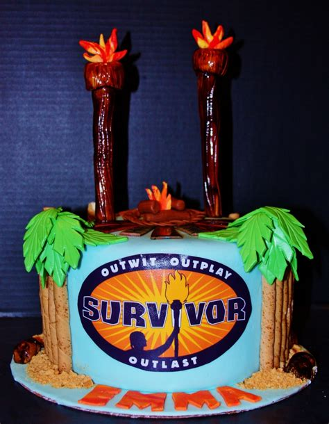 Survivor Themed Birthday Party - CakeCentral.com