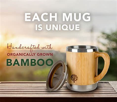 We deem the zojirushi stainless steel mug the best value on this list. Stainless Steel & Bamboo Coffee Mug - Insulated Wooden Cup with Handle & Lid - Non-Spill On the ...